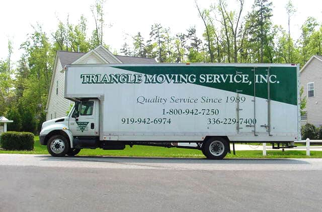 Triangle Moving Service - Truck